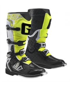Gaerne React White/Black/Yellow MX Boots