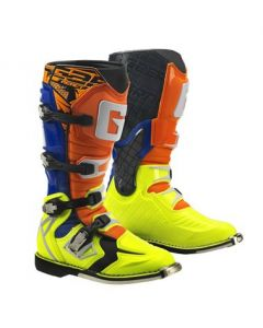 Gaerne React Orange/Blue/Yellow MX Boots