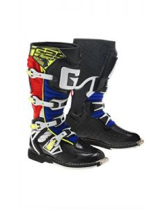 Gaerne React Red/Yellow/Blue MX Boots