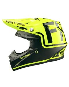 FH MC Bell Moto 9 Helmet - Flo Yellow