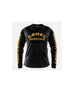 Webig Camel Smokercross Race Jersey Black