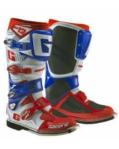 Gaerne SG12 White/Blue/Red MX Boots