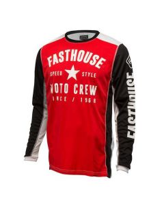 Fathouse Speed Style Red Jersey