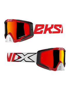 EKS Brand Goggle - EKS-S - Red/Black/White