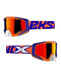 EKS Brand Goggle - EKS-S - Flo Orange/Blue/White