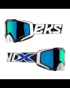 EKS Brand Goggle - EKS-S Black/White/Blue