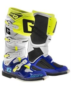 Gaerne SG12 Blue/White/Yellow MX Boots