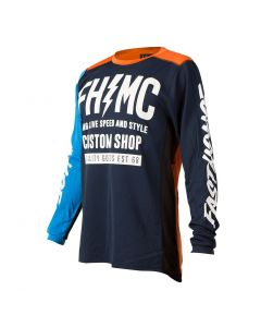 Fasthouse MC Long Live Blue/Orange Race Jersey