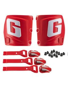 GAERNE TRIALS CONVERSION KIT - RED G PLATE + STRAPS