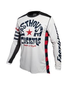 Fasthouse Funkhouse L1 Jersey White