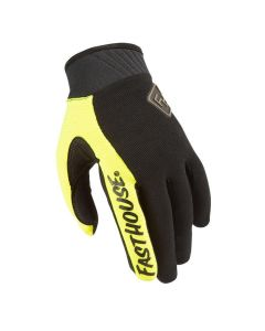 Fasthouse Grind House Adult Gloves Black/Flo Yel
