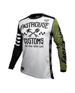 Fasthouse Hawk Limited Edition - Wht/Olive