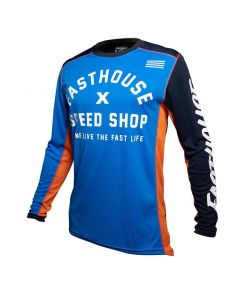 Fasthouse Heritage Jersey Blue