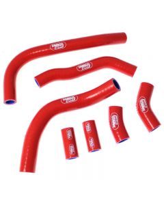 Honda CRF 450 R 2009 - 2012 OEM Replacement 7 Piece Samco Sport Silicone Radiator Coolant Hose Kit