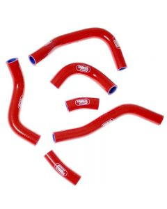Honda CRF 450 R 2013-2014 OEM Replacement 6 Piece Samco Sport Silicone Radiator Coolant Hose Kit