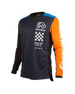 ***NEW***Fasthouse Icon L1 Jersey Blue/Orange