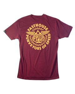 ***NEW***Fasthouse Maverick Tee Maroon