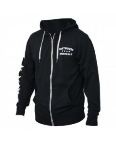Originals Black Zip Up Hoodie