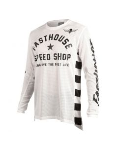 ***NEW*** Fasthouse Originals Air Cooled L1 Jeresey - White