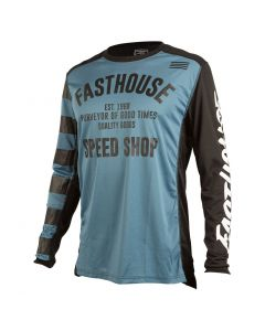 Fasthouse Speed Shop L1 Jersey - Slate Blue