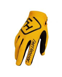 Fasthouse Speed Style Yellow Gloves