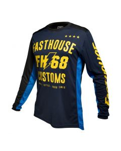 Fasthouse Worx 68 Youth Jersey Blue/Yellow