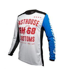 Fasthouse Worx 86 L1 - Wht/Blue